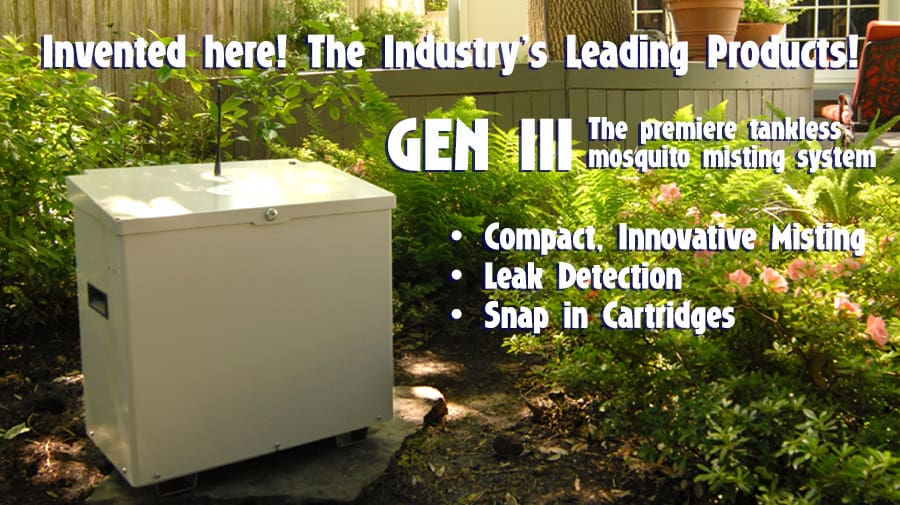mosquito control with Mistaway