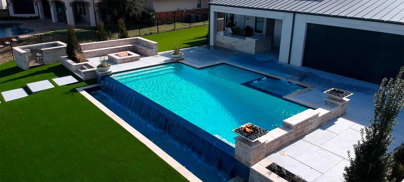 Emerald Custom Pools Build A Backyard Paradise Fort Worth Dallas