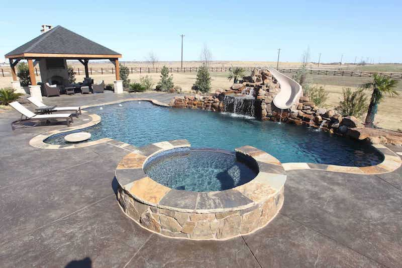 Finished Pool Installation
