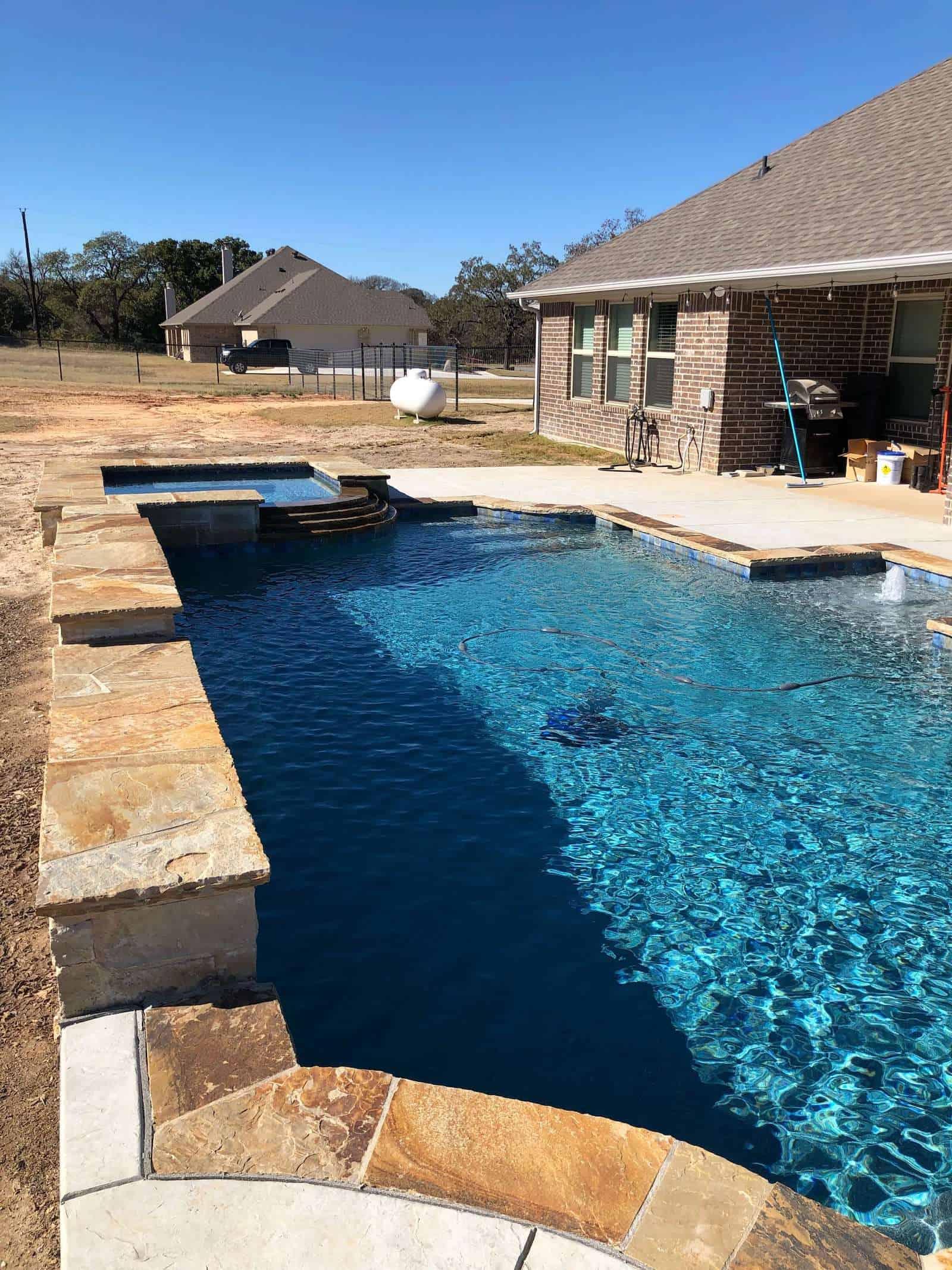 inground play pool